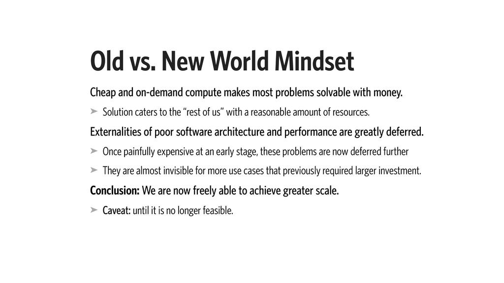 Old vs. New World Mindset Cheap and on-demand c...