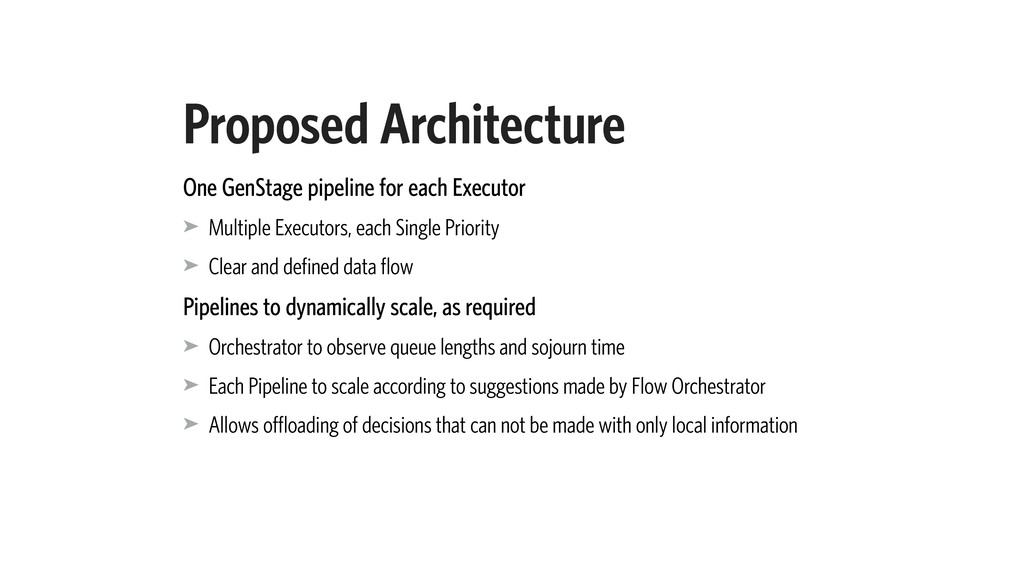 Proposed Architecture One GenStage pipeline for...