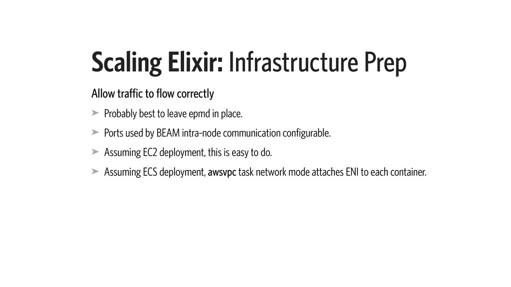 Scaling Elixir: Infrastructure Prep Allow traff...