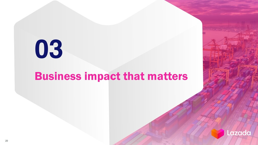 03 Business impact that matters 29