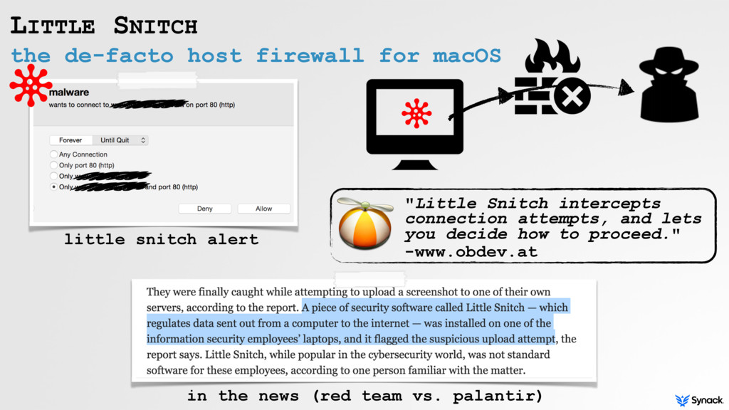 the de-facto host firewall for macOS LITTLE SNI...