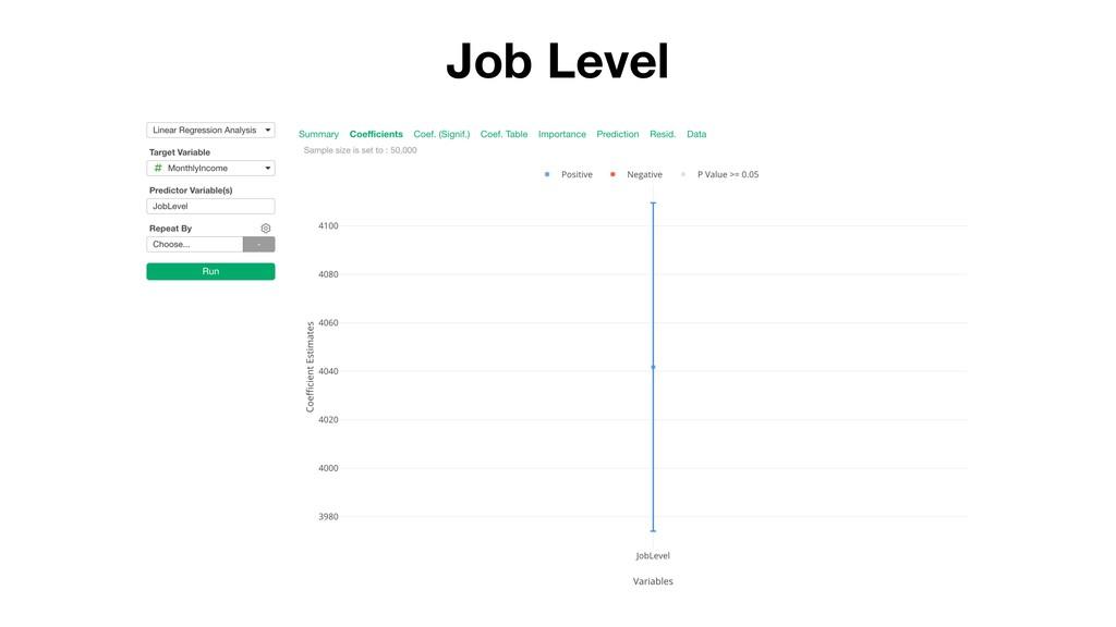 Job Level