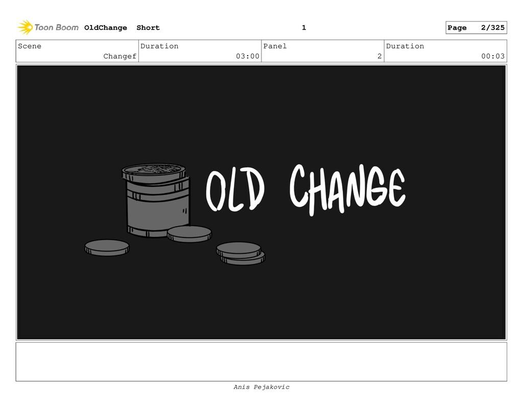 Scene Changef Duration 03:00 Panel 1 Duration 0...