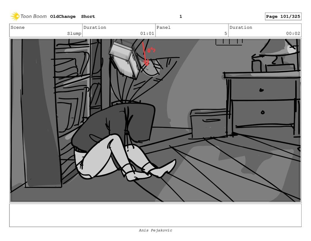 Scene Slump Duration 01:01 Panel 4 Duration 00:...