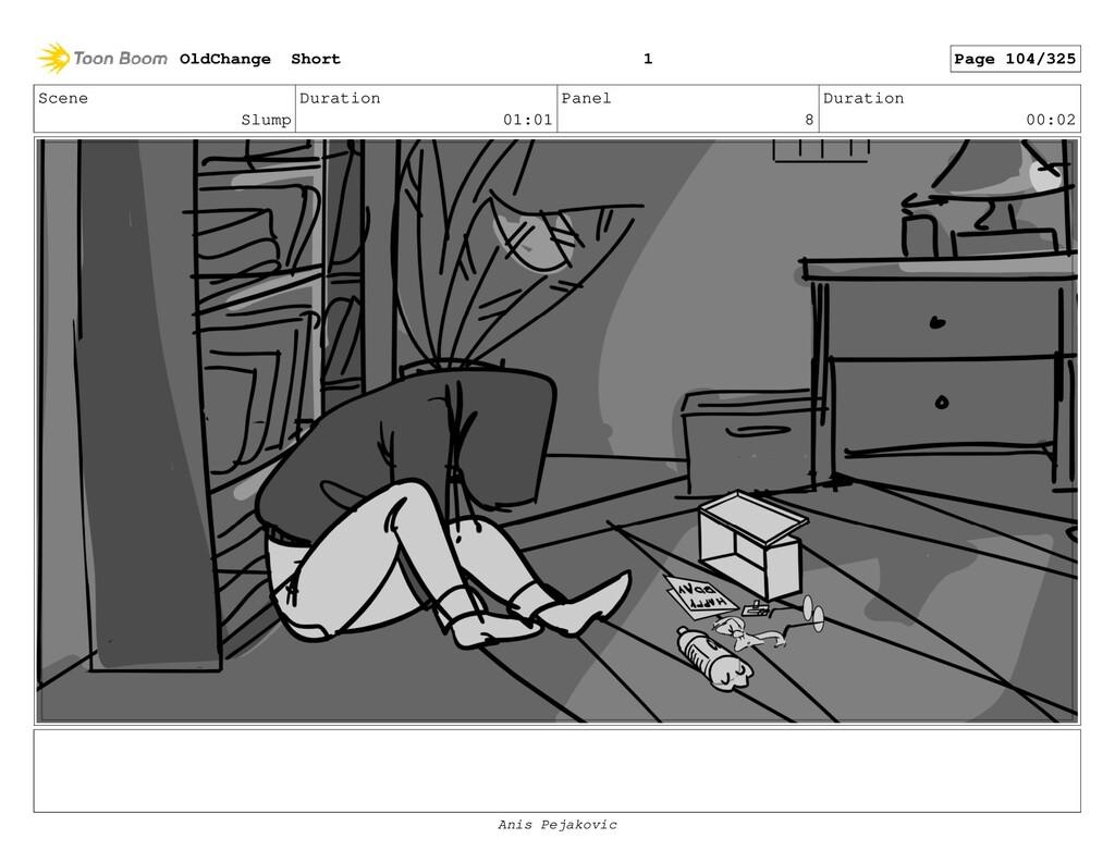 Scene Slump Duration 01:01 Panel 7 Duration 00:...