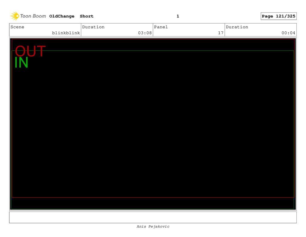 Scene blinkblink Duration 03:08 Panel 16 Durati...
