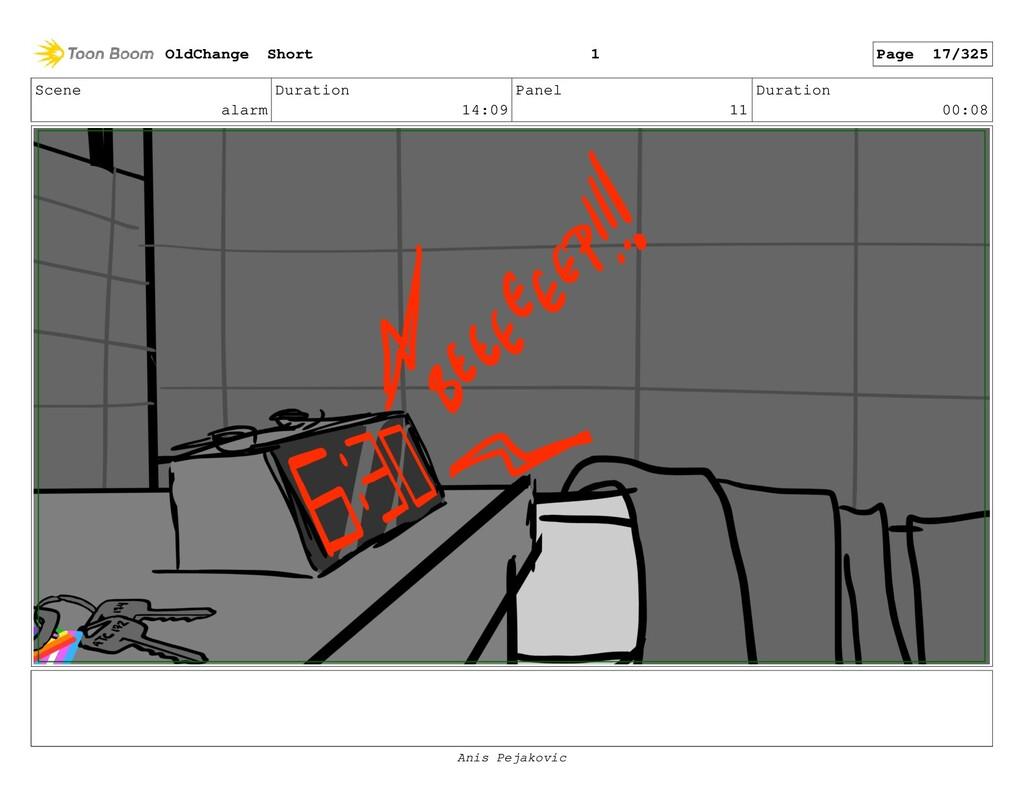 Scene alarm Duration 14:09 Panel 10 Duration 00...