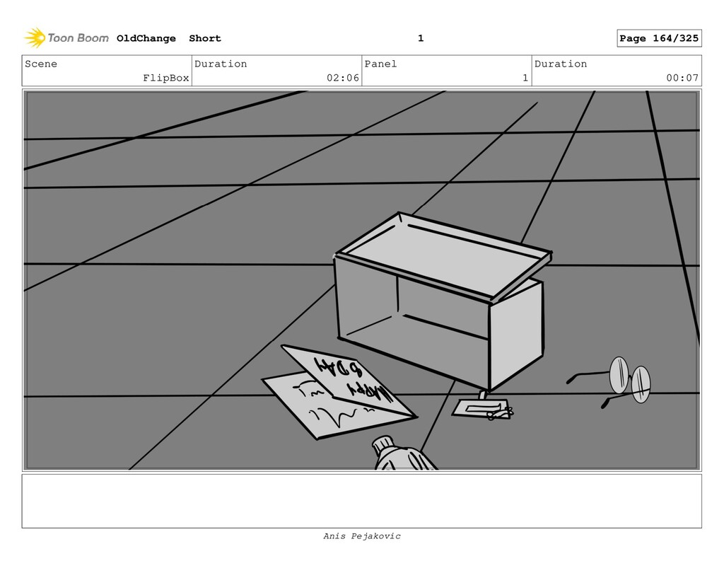 Scene BowtieReaction Duration 01:11 Panel 5 Dur...
