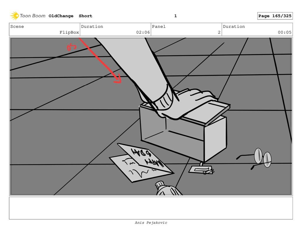 Scene FlipBox Duration 02:06 Panel 1 Duration 0...