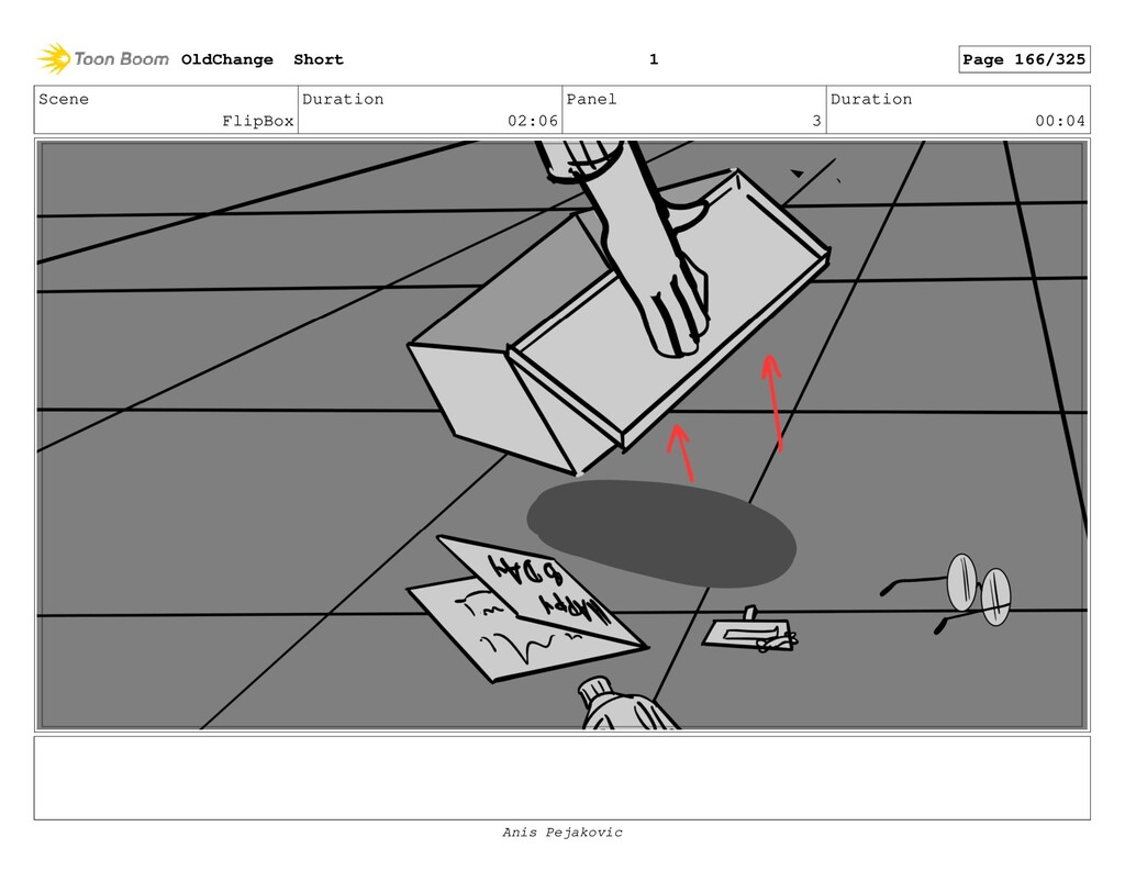 Scene FlipBox Duration 02:06 Panel 2 Duration 0...