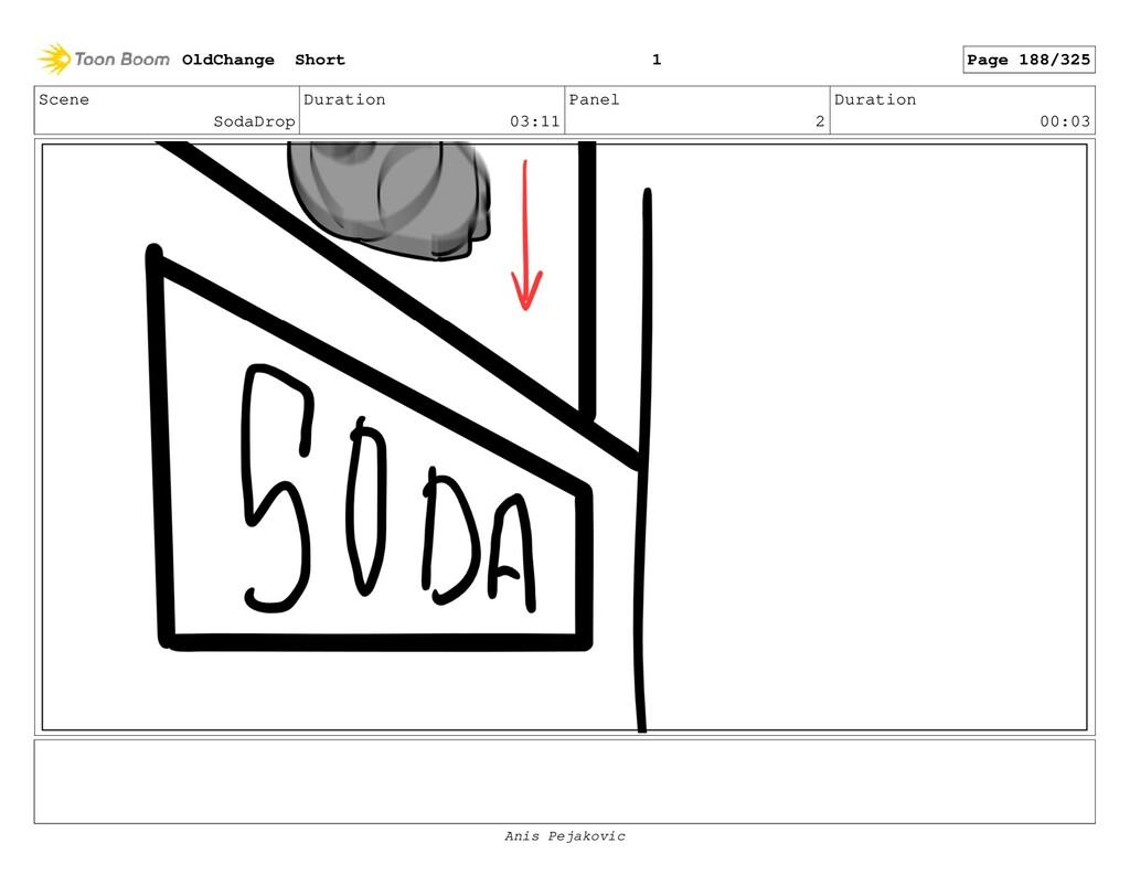 Scene SodaDrop Duration 03:11 Panel 1 Duration ...