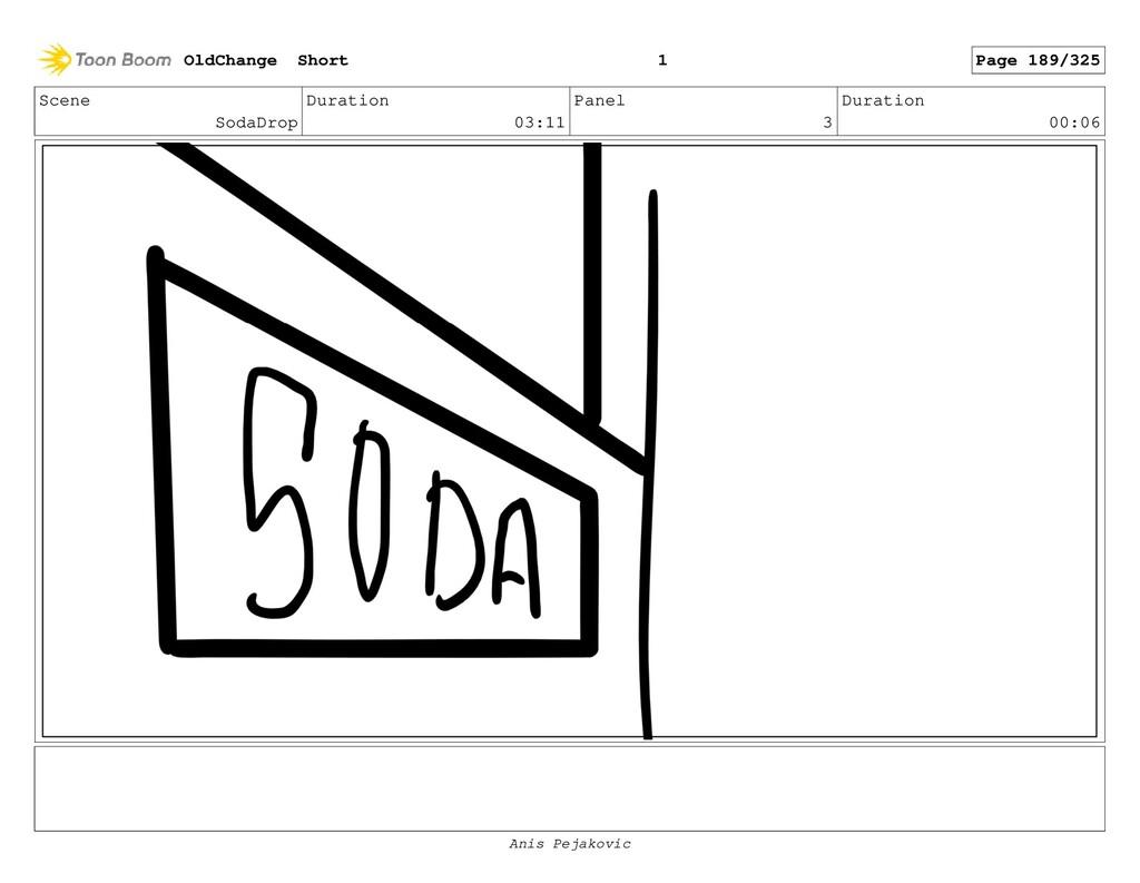 Scene SodaDrop Duration 03:11 Panel 2 Duration ...