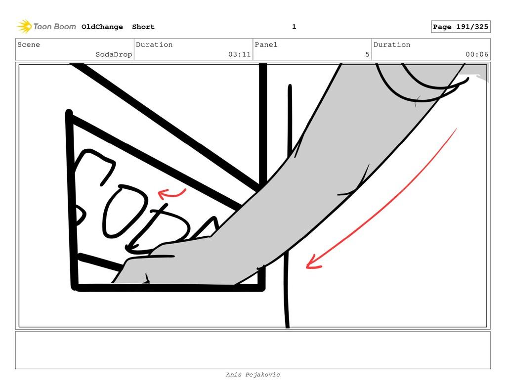 Scene SodaDrop Duration 03:11 Panel 4 Duration ...