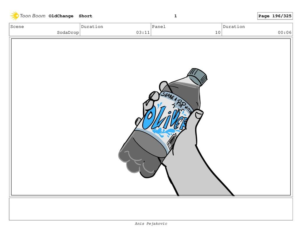Scene SodaDrop Duration 03:11 Panel 9 Duration ...