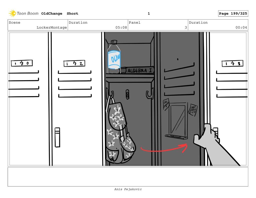Scene LockerMontage Duration 05:08 Panel 2 Dura...