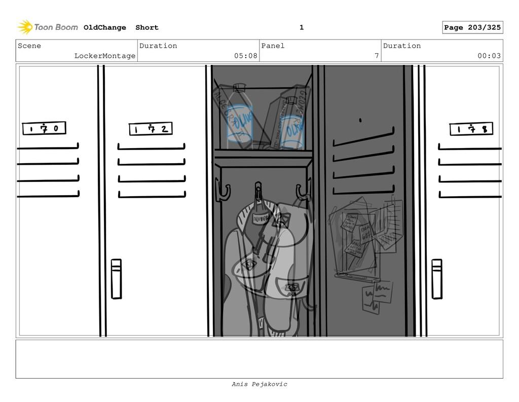 Scene LockerMontage Duration 05:08 Panel 6 Dura...