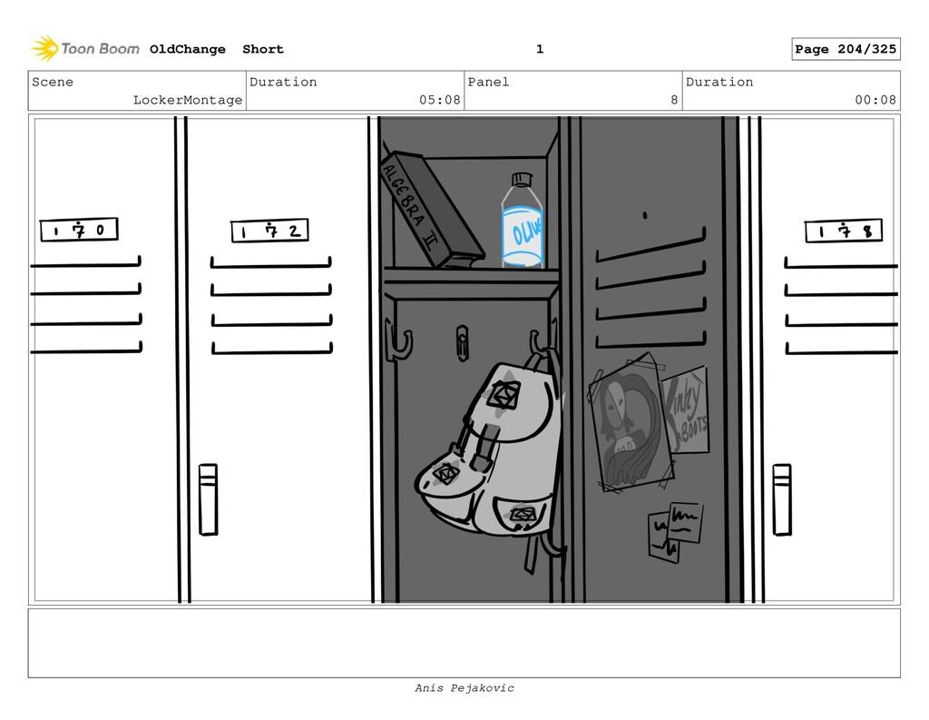 Scene LockerMontage Duration 05:08 Panel 7 Dura...