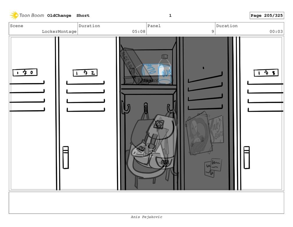 Scene LockerMontage Duration 05:08 Panel 8 Dura...