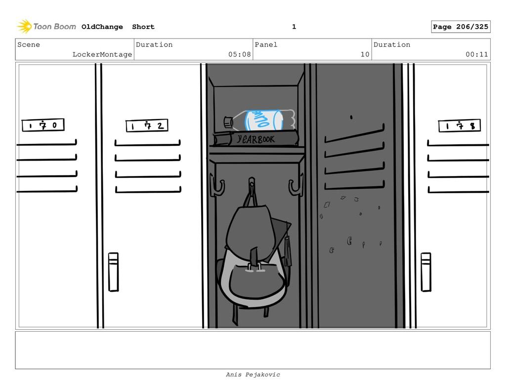 Scene LockerMontage Duration 05:08 Panel 9 Dura...