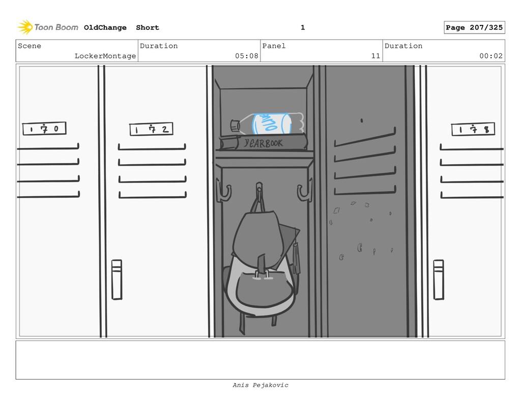Scene LockerMontage Duration 05:08 Panel 10 Dur...