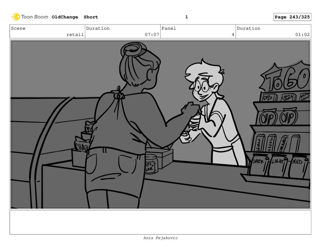 Scene retail Duration 07:07 Panel 3 Duration 00...