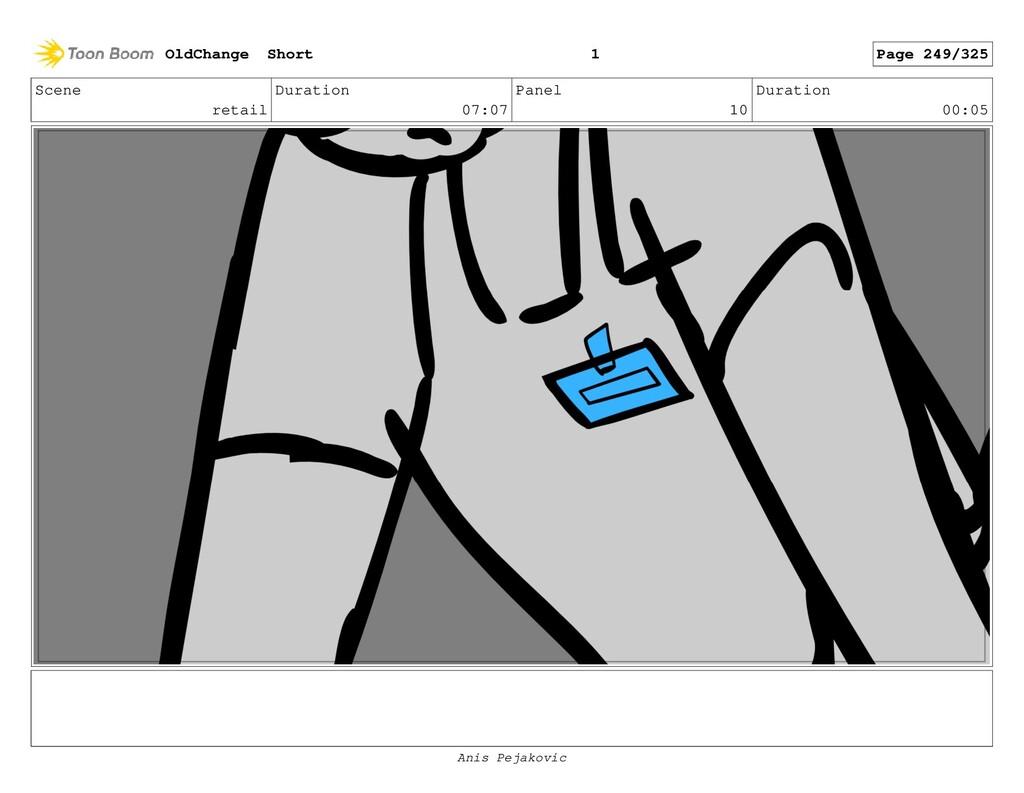 Scene retail Duration 07:07 Panel 9 Duration 00...