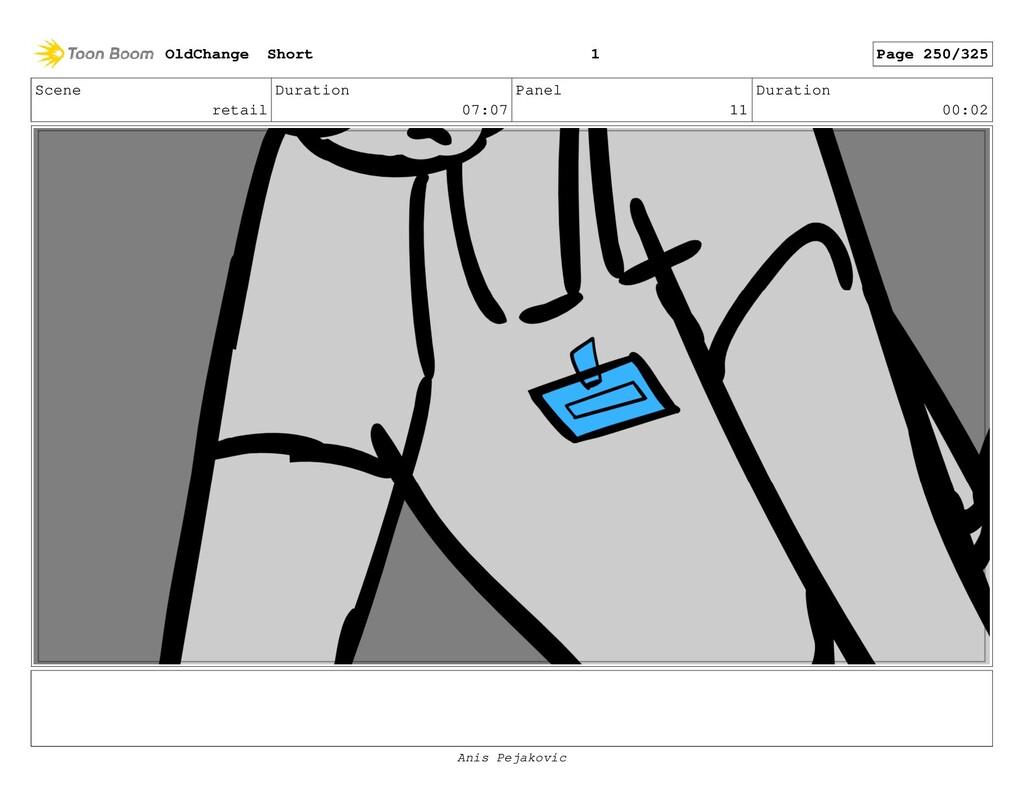 Scene retail Duration 07:07 Panel 10 Duration 0...