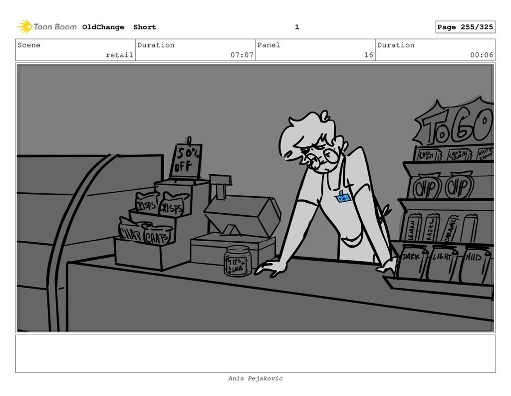 Scene retail Duration 07:07 Panel 15 Duration 0...