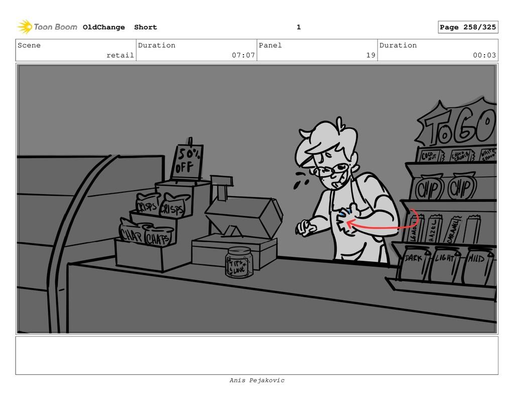 Scene retail Duration 07:07 Panel 18 Duration 0...