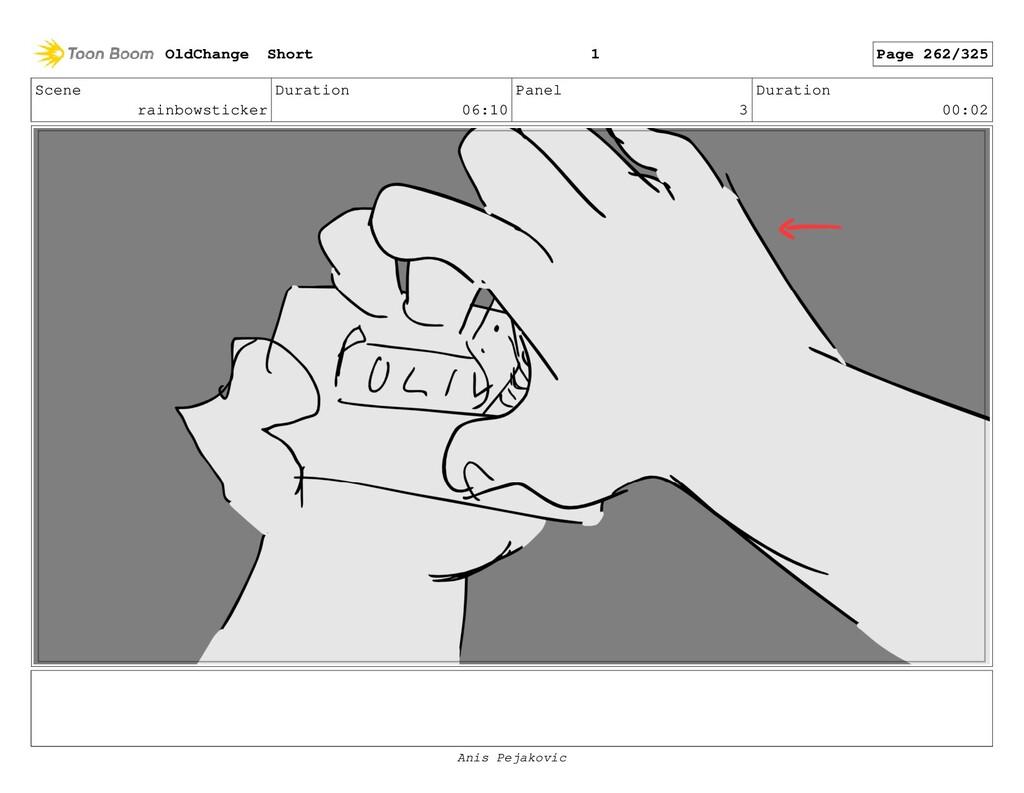 Scene rainbowsticker Duration 06:10 Panel 2 Dur...