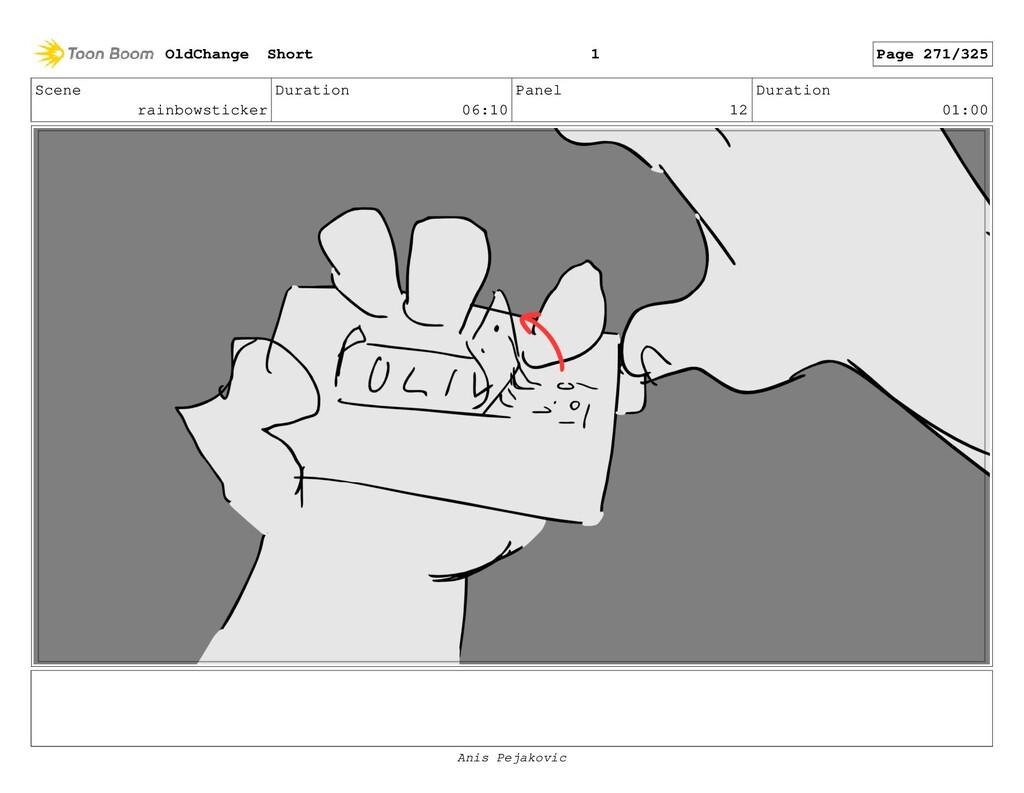 Scene rainbowsticker Duration 06:10 Panel 11 Du...