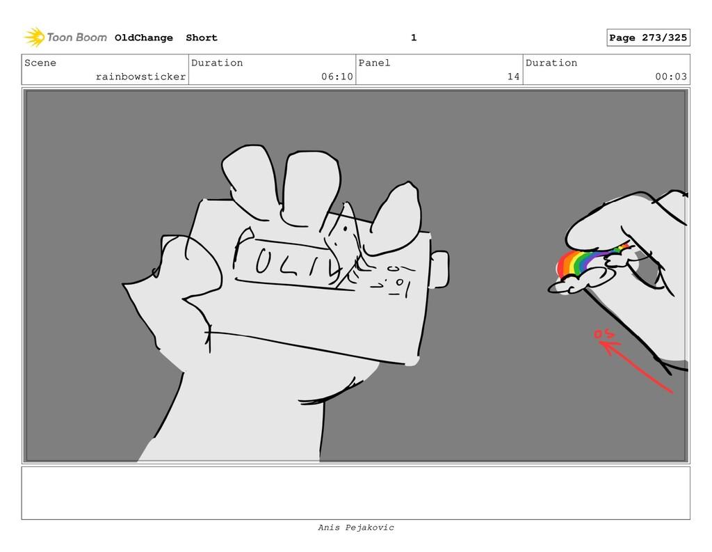 Scene rainbowsticker Duration 06:10 Panel 13 Du...