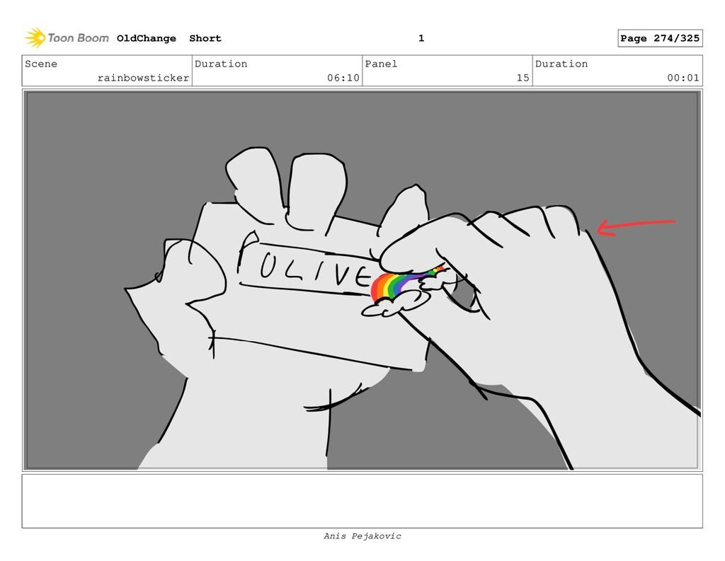 Scene rainbowsticker Duration 06:10 Panel 14 Du...