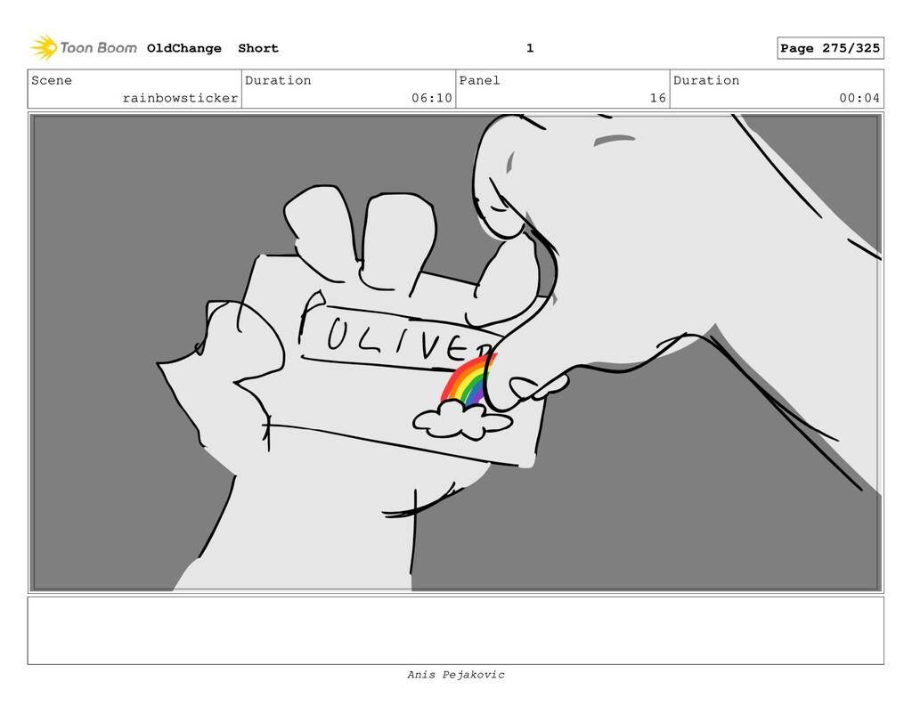 Scene rainbowsticker Duration 06:10 Panel 15 Du...