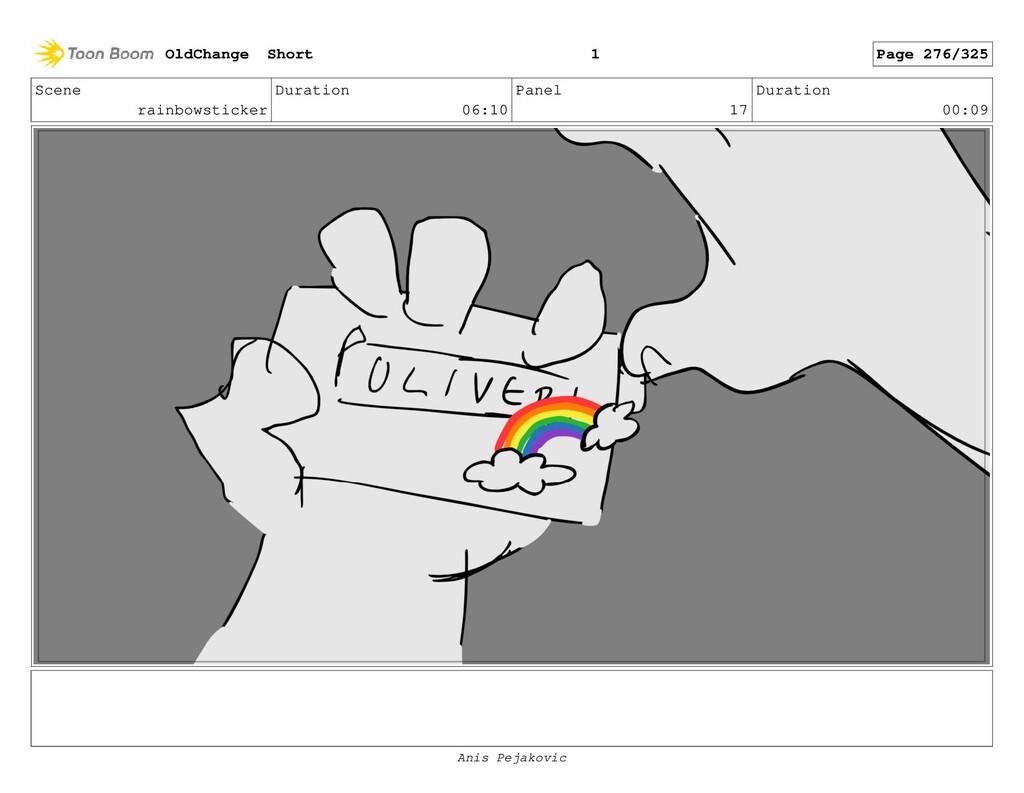 Scene rainbowsticker Duration 06:10 Panel 16 Du...
