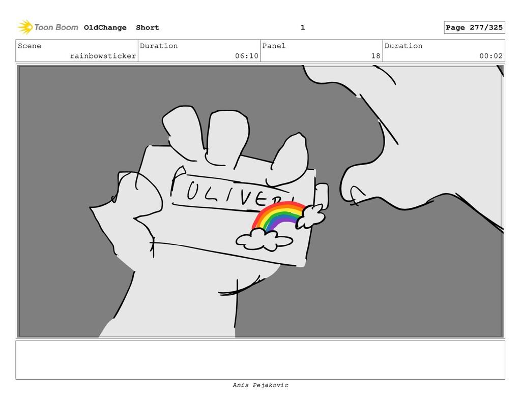 Scene rainbowsticker Duration 06:10 Panel 17 Du...