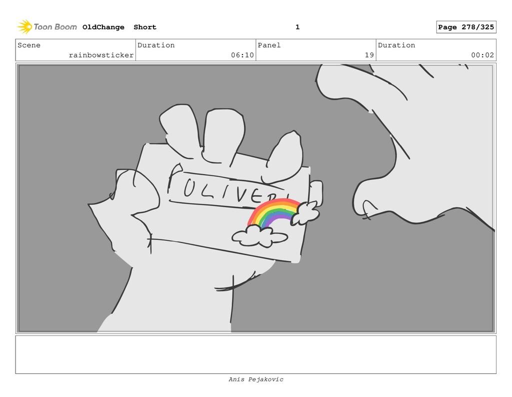 Scene rainbowsticker Duration 06:10 Panel 18 Du...