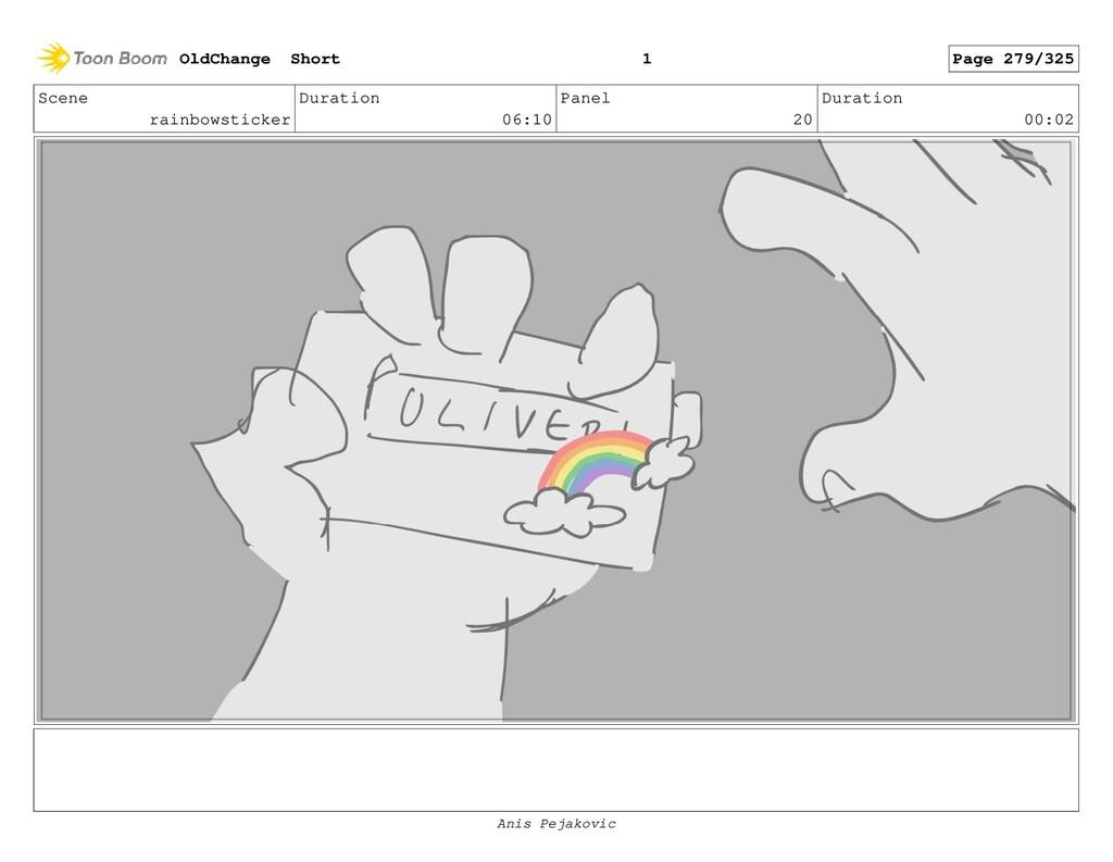 Scene rainbowsticker Duration 06:10 Panel 19 Du...