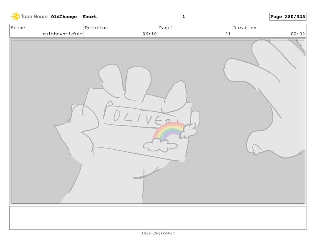 Scene rainbowsticker Duration 06:10 Panel 20 Du...