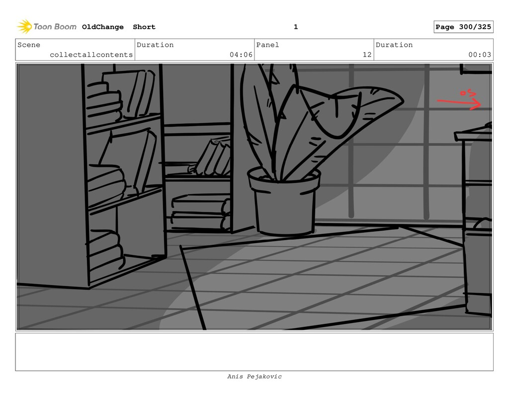 Scene collectallcontents Duration 04:06 Panel 1...