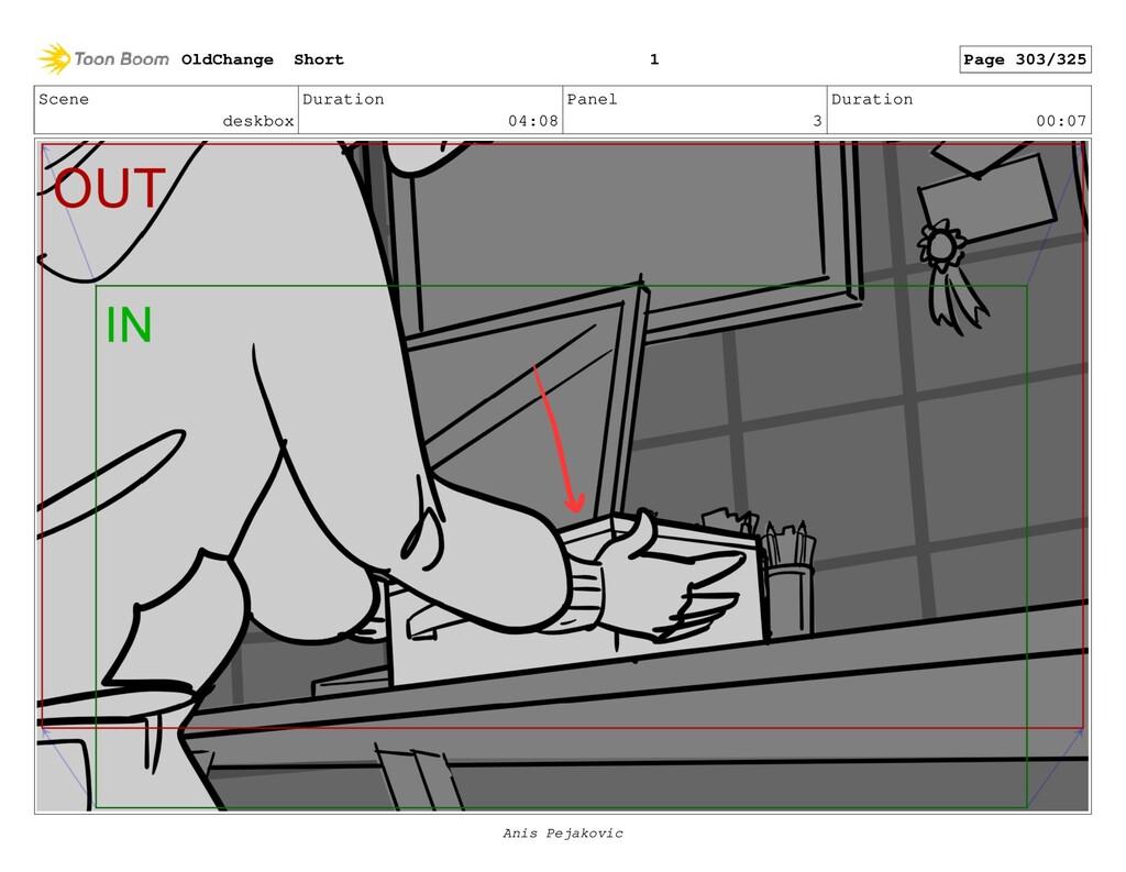 Scene deskbox Duration 04:08 Panel 2 Duration 0...