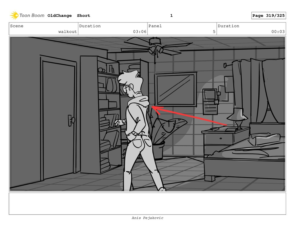 Scene walkout Duration 03:06 Panel 4 Duration 0...