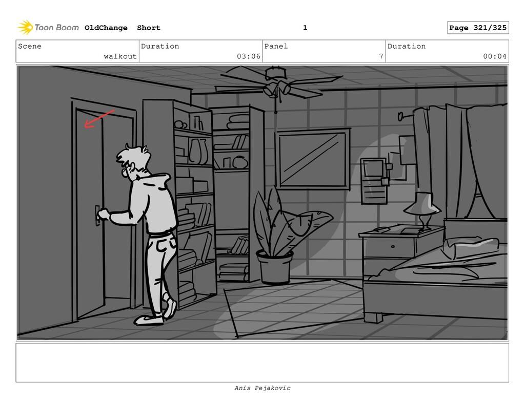 Scene walkout Duration 03:06 Panel 6 Duration 0...
