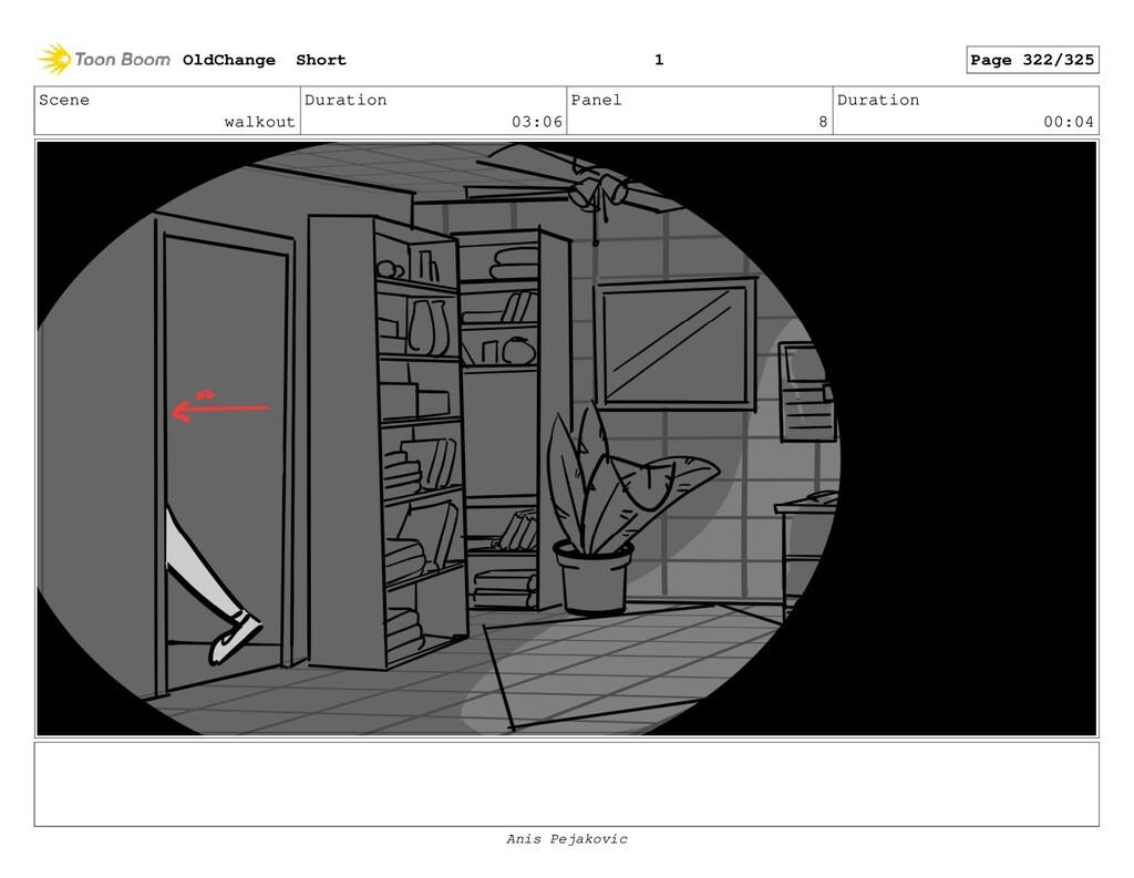 Scene walkout Duration 03:06 Panel 7 Duration 0...