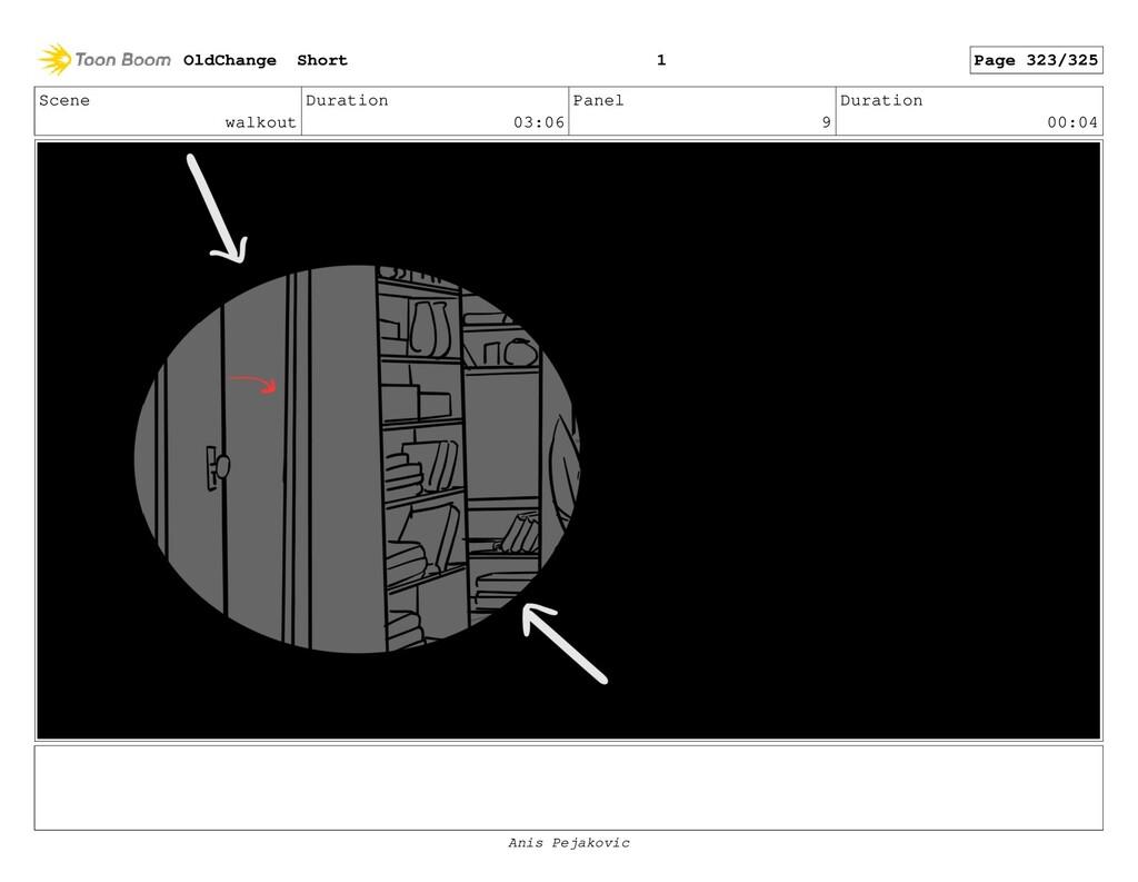 Scene walkout Duration 03:06 Panel 8 Duration 0...