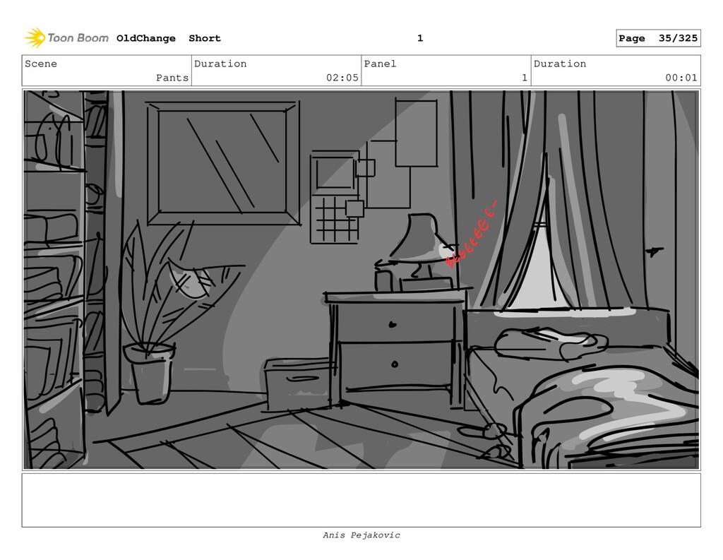 Scene Closset Duration 00:08 Panel 5 Duration 0...