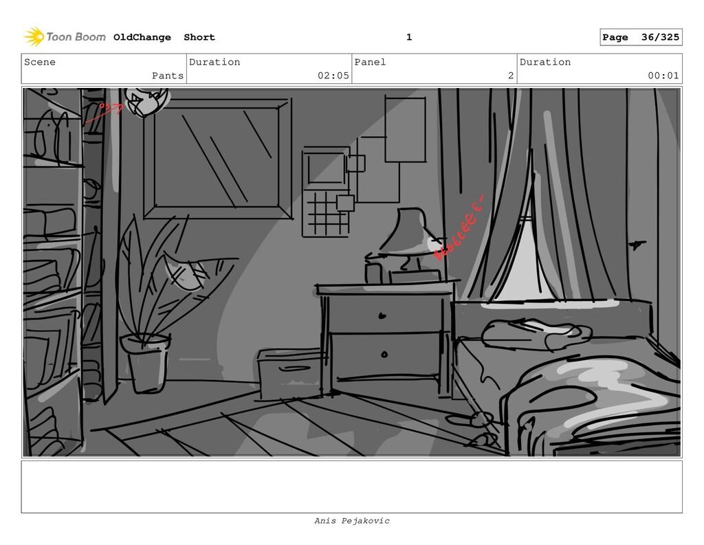Scene Pants Duration 02:05 Panel 1 Duration 00:...