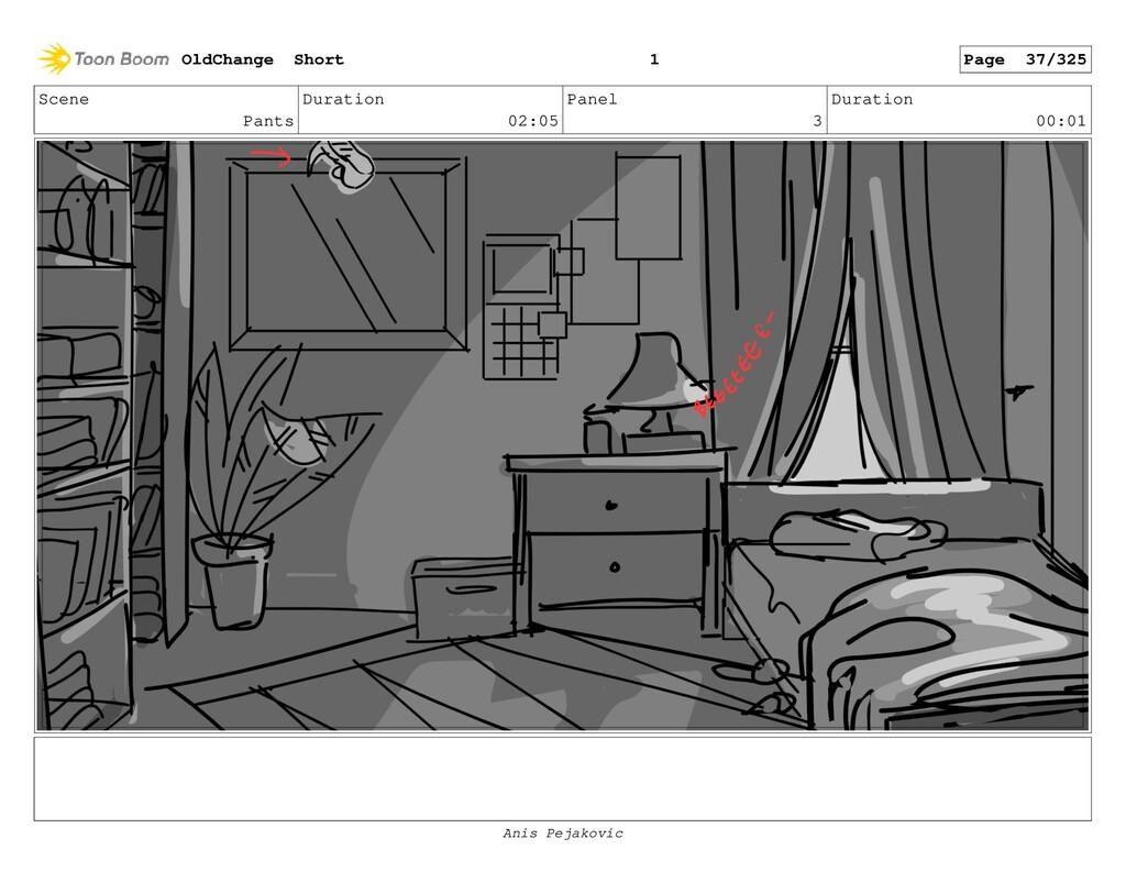 Scene Pants Duration 02:05 Panel 2 Duration 00:...