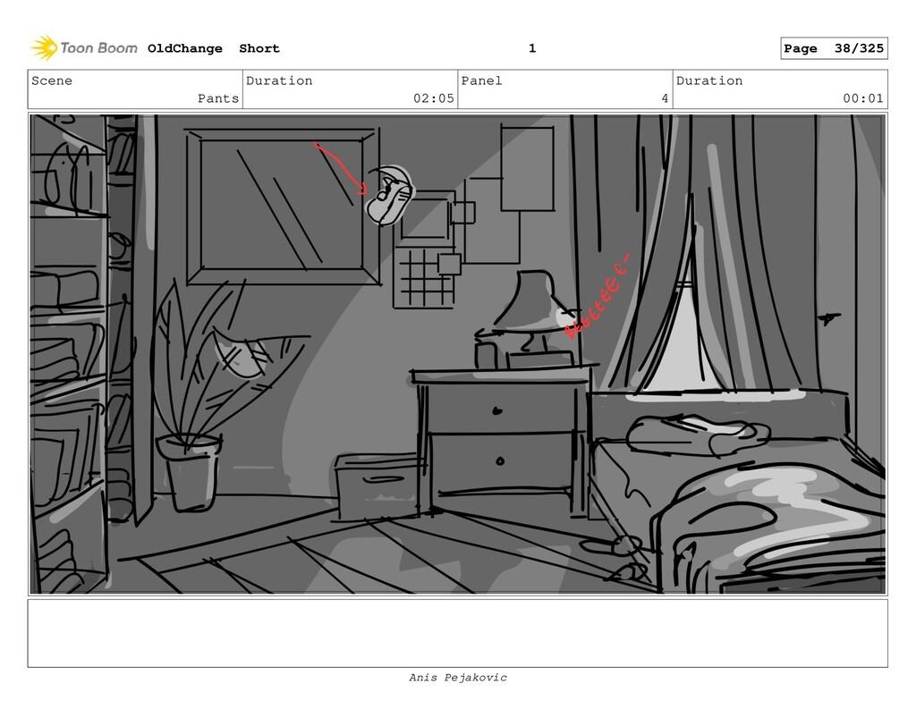 Scene Pants Duration 02:05 Panel 3 Duration 00:...