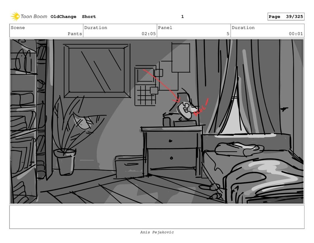 Scene Pants Duration 02:05 Panel 4 Duration 00:...